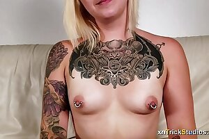 Nervous tattoed doll Ami nails on first-ever casting - preview