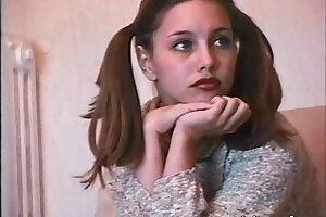 Teenage Russian Model Does Rectal