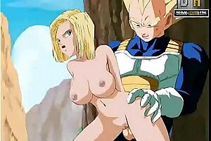 Dragon Ball Pornography - Winner gets Android Barely legal