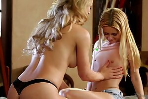 Cherie DeVille and her lil' Step Daughter-in-law Kennedy Kressler