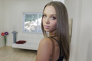 Hot  Nubile Assistant With Braces Fucked By Her Boss POV