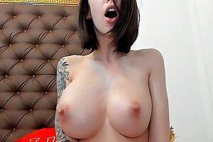 Blasting show ,Big natural tits girl squirting many times