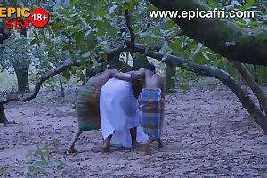 African Warriors Gives Village goddess Dual Penetration
