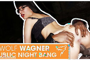 Emo girl Zeyna gets ravaged outside at night! wolfwagner.com