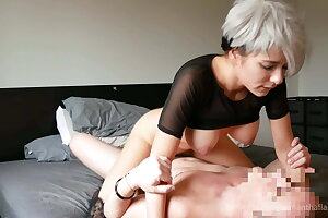 Stepdaughter squirts all over her stepdad's cock!