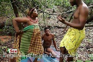 Village Outdoor Threesome - Hunter Caught me Fucking Favored Village Slut (Trailer)