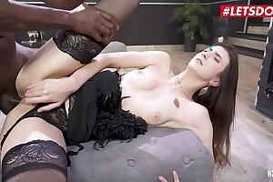 LETSDOEIT - Lina Luxa Gets Some Anal invasion Love From Her Big black cock Playmate Mike Chapman